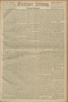 Stettiner Zeitung. 1889, Nr. 359 (15 Oktober) - Morgen-Ausgabe
