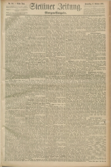 Stettiner Zeitung. 1889, Nr. 361 (17 Oktober) - Morgen-Ausgabe