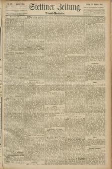 Stettiner Zeitung. 1889, Nr. 369 (25 Oktober) - Abend-Ausgabe