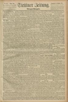 Stettiner Zeitung. 1889, Nr. 370 (26 Oktober) - Morgen-Ausgabe