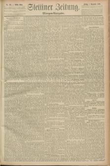 Stettiner Zeitung. 1889, Nr. 376 (1 November) - Morgen-Ausgabe