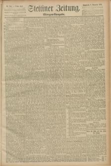 Stettiner Zeitung. 1889, Nr. 384 (9 November) - Morgen-Ausgabe