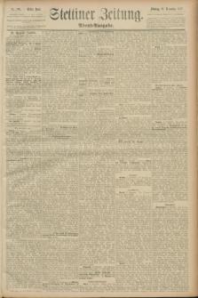 Stettiner Zeitung. 1889, Nr. 393 (18 November) - Abend-Ausgabe