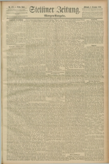 Stettiner Zeitung. 1889, Nr. 409 (4 Dezember) - Morgen-Ausgabe