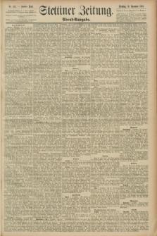 Stettiner Zeitung. 1889, Nr. 415 (10 Dezember) - Abend-Ausgabe