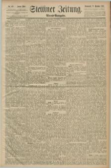 Stettiner Zeitung. 1889, Nr. 432 (28 Dezember) - Abend-Ausgabe