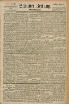 Stettiner Zeitung. 1889, Nr. 435 (31 Dezember) - Abend-Ausgabe