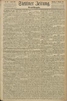 Stettiner Zeitung. 1890, Nr. 556 (27 November) - Abend-Ausgabe