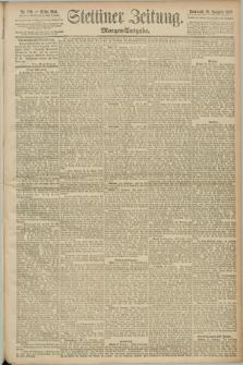 Stettiner Zeitung. 1890, Nr. 559 (29 November) - Morgen-Ausgabe