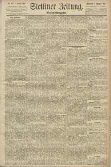 Stettiner Zeitung. 1890, Nr. 572 (6 Dezember) - Abend-Ausgabe