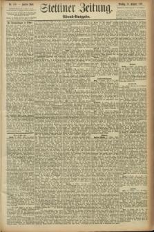 Stettiner Zeitung. 1891, Nr. 490 (20 Oktober) - Abend-Ausgabe