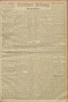 Stettiner Zeitung. 1893, Nr. 447 (23 September) - Morgen-Ausgabe