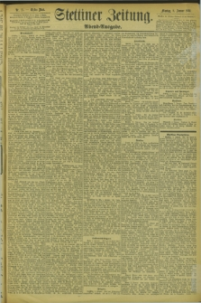Stettiner Zeitung. 1894, Nr. 11 (8 Januar) - Abend-Ausgabe