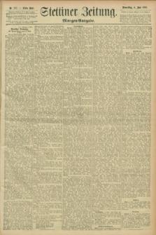 Stettiner Zeitung. 1896, Nr. 257 (4 Juni) - Morgen-Ausgabe