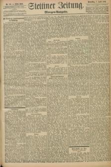Stettiner Zeitung. 1898, Nr. 163 (7 April) - Morgen-Ausgabe