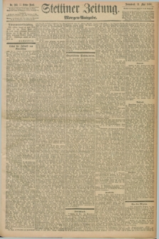 Stettiner Zeitung. 1898, Nr. 233 (21 Mai) - Morgen-Ausgabe