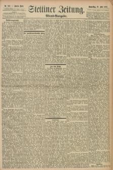 Stettiner Zeitung. 1898, Nr. 242 (26 Mai) - Abend-Ausgabe