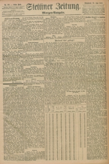 Stettiner Zeitung. 1898, Nr. 291 (25 Juni) - Morgen-Ausgabe