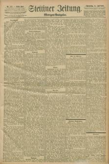Stettiner Zeitung. 1898, Nr. 323 (14 Juli) - Morgen-Ausgabe