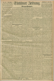 Stettiner Zeitung. 1898, Nr. 347 (28 Juli) - Morgen-Ausgabe