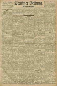 Stettiner Zeitung. 1898, Nr. 423 (10 September) - Morgen-Ausgabe
