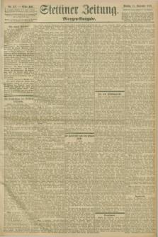 Stettiner Zeitung. 1898, Nr. 427 (13 September) - Morgen-Ausgabe