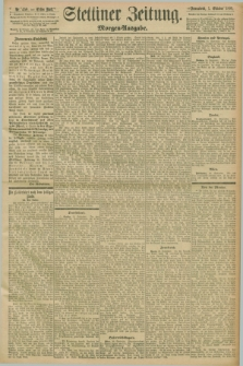 Stettiner Zeitung. 1898, Nr. 459 (1 Oktober) - Morgen-Ausgabe