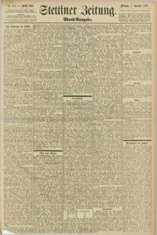 Stettiner Zeitung. 1898, Nr. 514 (2 November) - Abend-Ausgabe