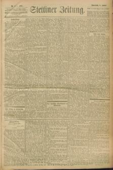 Stettiner Zeitung. 1900, Nr. 4 (6 Januar)