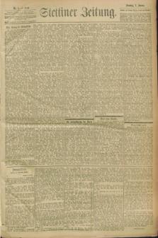 Stettiner Zeitung. 1900, Nr. 5 (7 Januar)