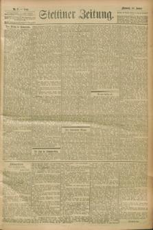Stettiner Zeitung. 1900, Nr. 7 (10 Januar)