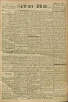 Stettiner Zeitung. 1900, Nr. 8 (11 Januar)