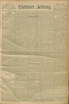 Stettiner Zeitung. 1900, Nr. 9 (12 Januar)