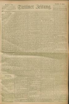 Stettiner Zeitung. 1900, Nr. 10 (13 Januar)