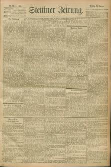Stettiner Zeitung. 1900, Nr. 12 (16 Januar)