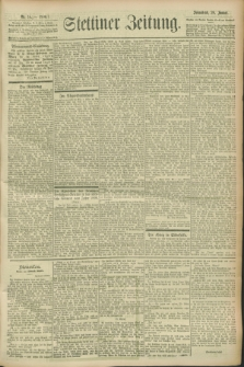 Stettiner Zeitung. 1900, Nr. 16 (20 Januar)
