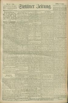 Stettiner Zeitung. 1900, Nr. 18 (23 Januar)