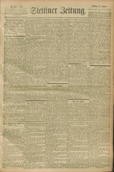 Stettiner Zeitung. 1900, Nr. 23 (28 Januar)