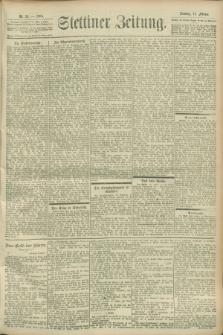 Stettiner Zeitung. 1900, Nr. 35 (11 Februar)