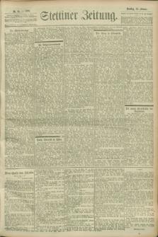 Stettiner Zeitung. 1900, Nr. 36 (13 Februar)