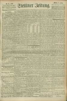Stettiner Zeitung. 1900, Nr. 37 (14 Februar)