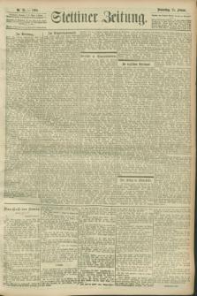 Stettiner Zeitung. 1900, Nr. 38 (15 Februar)