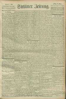 Stettiner Zeitung. 1900, Nr. 39 (16 Februar)