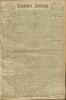 Stettiner Zeitung. 1900, Nr. 48 (27 Februar)