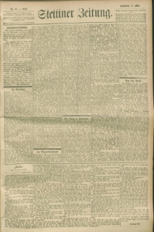 Stettiner Zeitung. 1900, Nr. 64 (17 März)