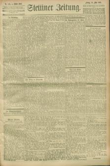 Stettiner Zeitung. 1900, Nr. 115 (18 Mai)