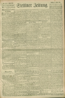 Stettiner Zeitung. 1900, Nr. 118 (22 Mai)