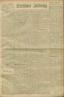 Stettiner Zeitung. 1900, Nr. 133 (10 Juni)