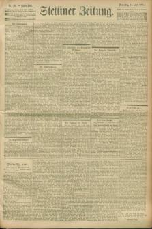 Stettiner Zeitung. 1900, Nr. 136 (14 Juni)