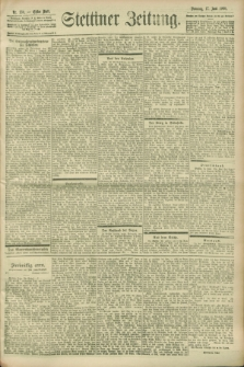 Stettiner Zeitung. 1900, Nr. 139 (17 Juni)
